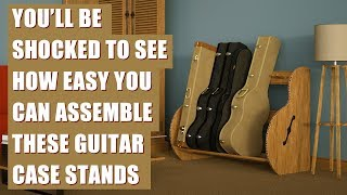 Guitar Storage Case Rack For Home Or Studio