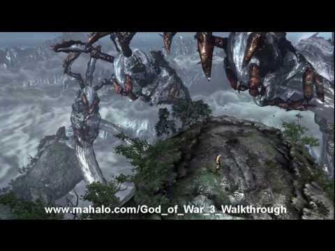God of War III Walkthrough - Poseidon Boss Fight Part 4 HD
