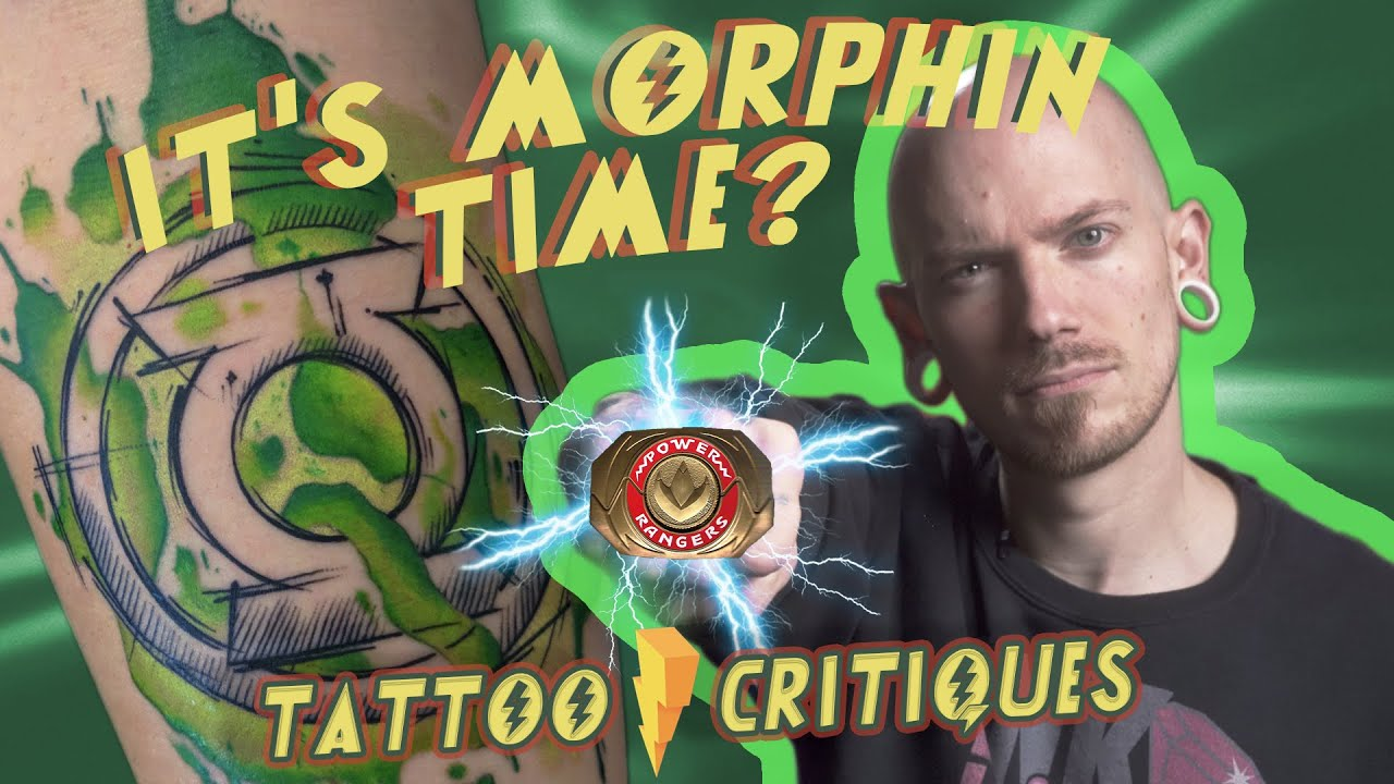 It's Morphin' Time?   Tattoo Critiques   Collector Submissions