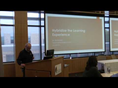 Hybridize the Learning Experience