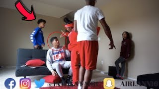 IM JOINING A CLIQUE PRANK ON ROOMMATES !!! FT. CARMEN AND COREY , CHRIS AND TRAY AND NIQUE AND KING