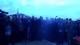 Repeat youtube video Xhavit Haliti varrimi i atdhetarit Muharem Dina-Mixha 22 shkurt 2014