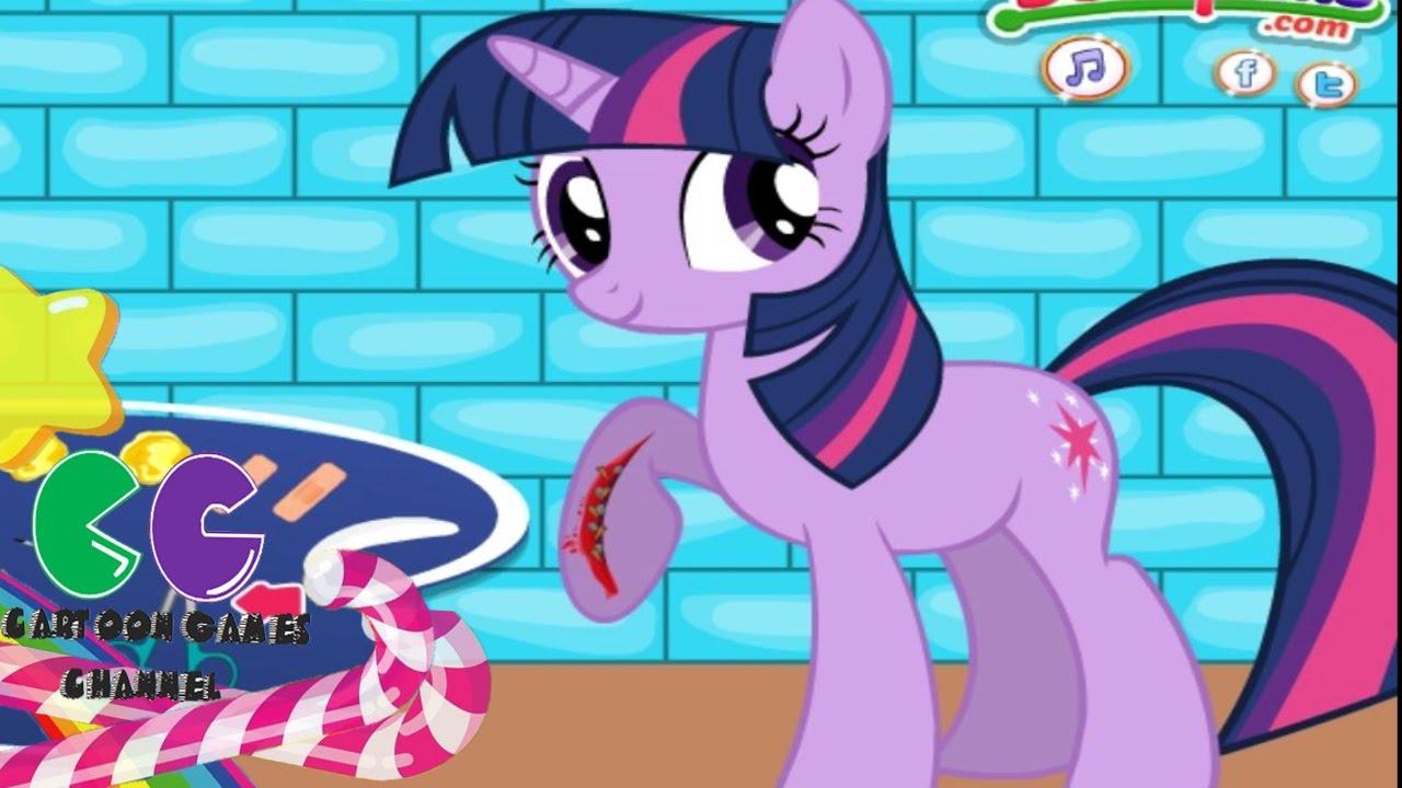 My Little Pony, Twilight Sparkle después de una lesión: juego de ...