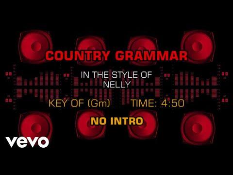 Nelly  Country Grammar Karaoke