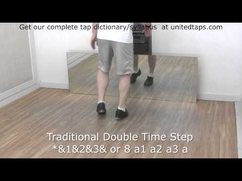 Traditional Double Time Step Tap Dance Move Shown by Rod ...
