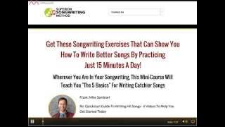 The Quickstart Guide To Writing Hit Songs By Mike Seminari  Review - Is It Worth It?