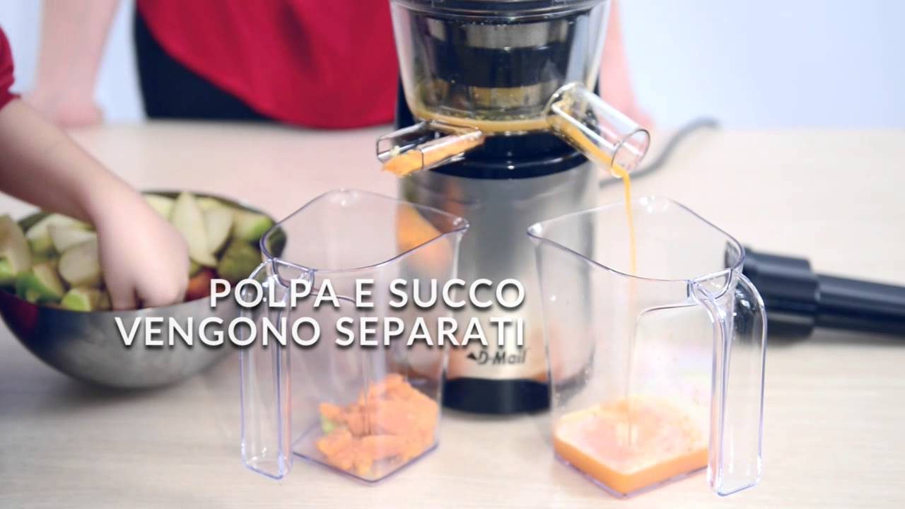 Estrattore Hotpoint Slow Juicer : Estrattore di succo SLOW JUICER - YouTube