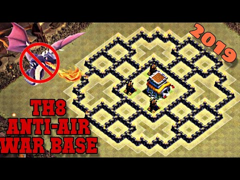 Undefeated Best Th 8 War Base 4