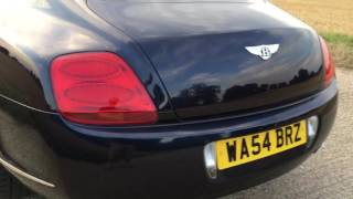 2004 BENTLEY CONTINENTAL GT 6.0 W12 TWIN TURBO VIDEO REVIEW
