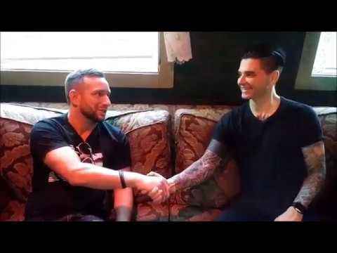 Backstage with Chris Carrabba of Dashboard Confessional