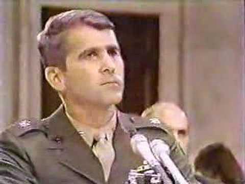 Oliver North Questioned - Rex 84 Exposed During Iran Contra