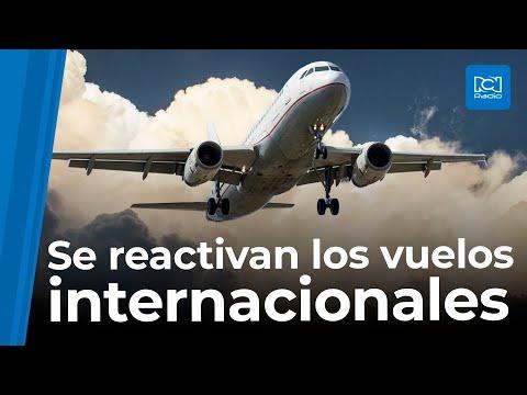 Vuelos internacionales en Colombia iniciarán en septiembre, pero no a todos los destinos
