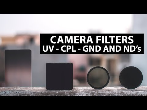 How To Choose Lens Filters - UV, CPL, GND, Variable ND And Fixed ND.