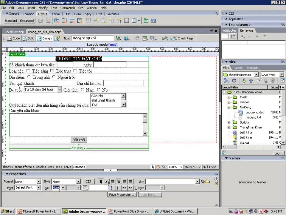 Lập trình ứng dụng WEB với PHP của KHTNLý thuyết, cực chuẩn Phim 2 wmv