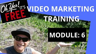 Free Video Marketing Training: Module 6 - How to Share your Videos to