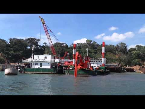 dredger in philippines