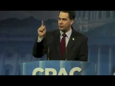 Wisconsin Governor Scott Walker at CPAC - YouTube