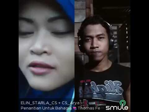 PENANTIAN UNTUK BAHAGIA - pasangan romantis nyanyi bareng on smule .COMMUNITY SINGER