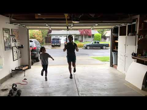 TRX at Home l 30-Minute Total-Body Strength Garage Workout