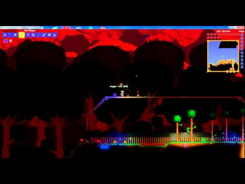 Terraria How To: Blood Moon With Water Candle