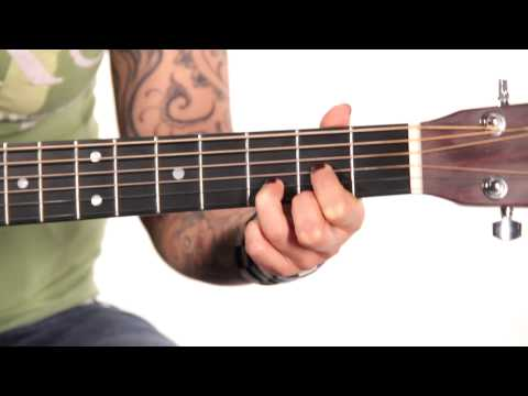Learn Guitar: How to Play a D Major Chord