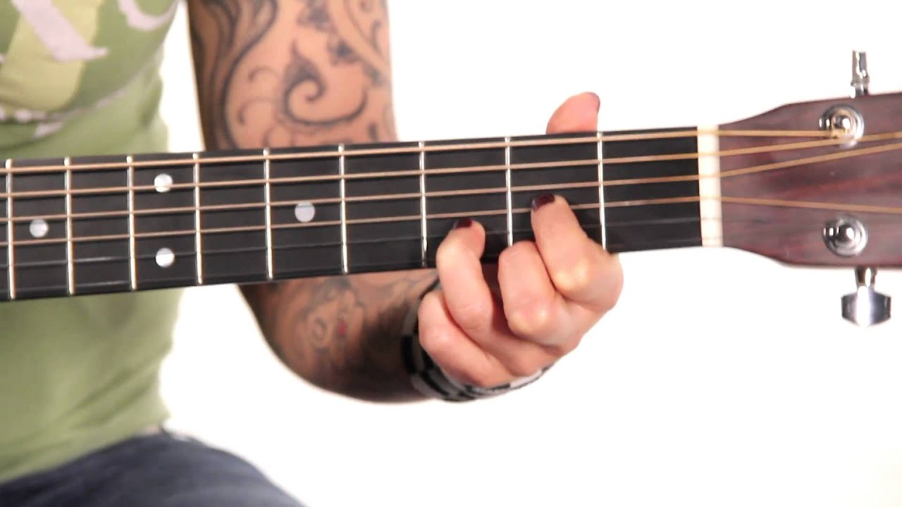 Learn Guitar: How to Play a D Major Chord - YouTube