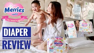 REVIEW: Merries Diaper (#1 Diaper Brand in Japan)