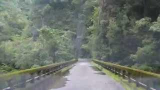 和歌山県道 229号・古座川熊野川線(新宮市 熊野川町 畝畑 → 西)