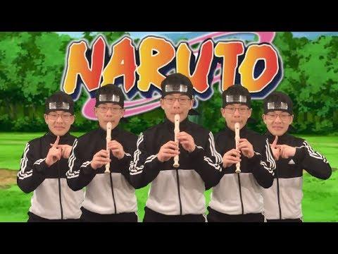 Naruto - Raising Fighting Spirit On Recorder