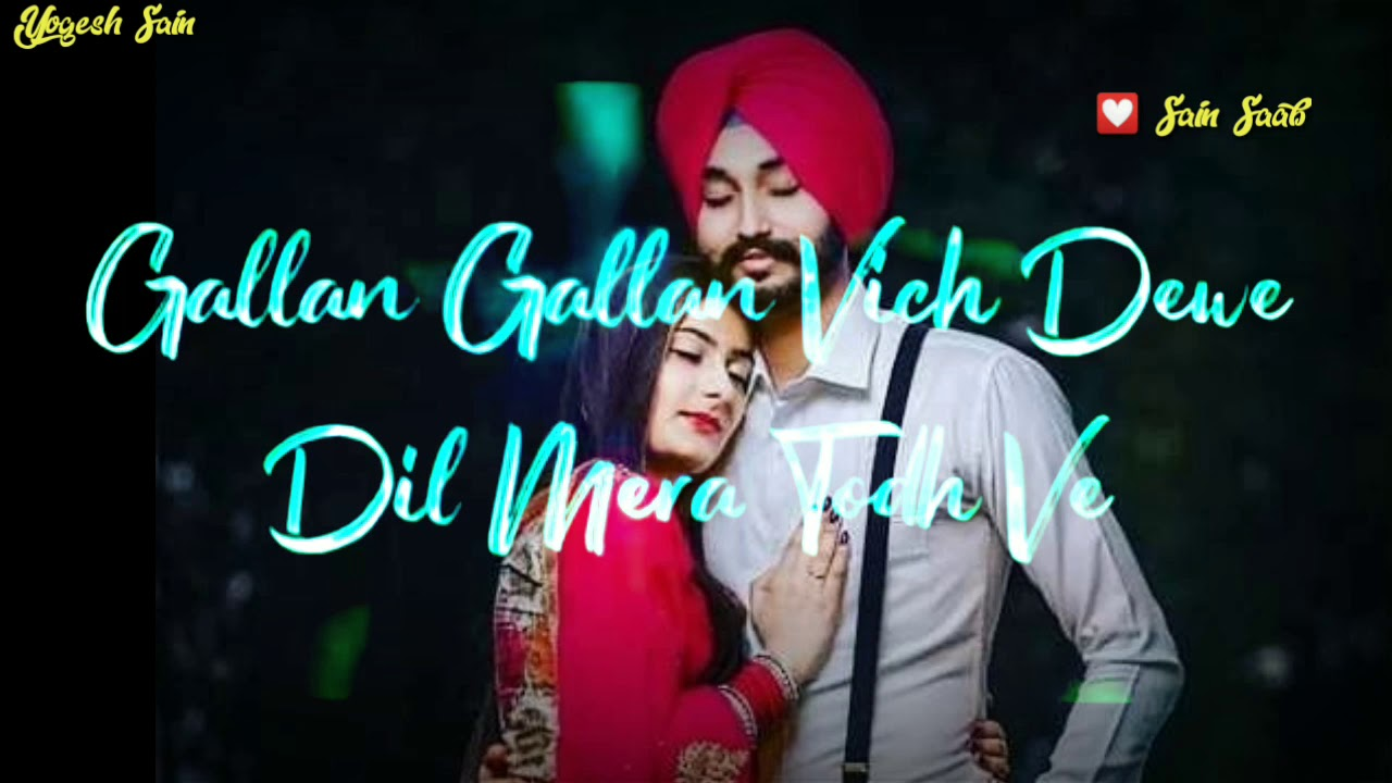 GF😍 ️LOVE ️new Punjabi song whatsapp status video ...