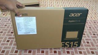 Acer Aspire ES 15 Unboxing | Acer Aspire ES1-521 (AMD APU A4 - Linux Command Line)