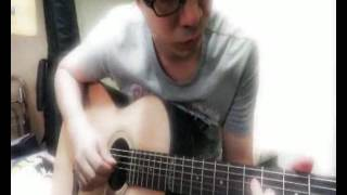 How deep is your love (acoustic guitar cover)