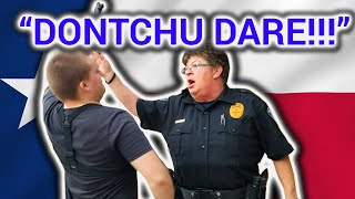 FT. WORTH POLICE DEPARTMENT - WITH NEWS NOW HOUSTON, JAMES FREEMAN, NEW NOW PATRICK