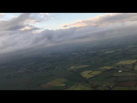 Take-off from Dublin Airport, Ireland - 23rd June, 2016