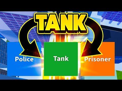 PLAYING JAILBREAK AS A TANK! (ROBLOX Jailbreak)
