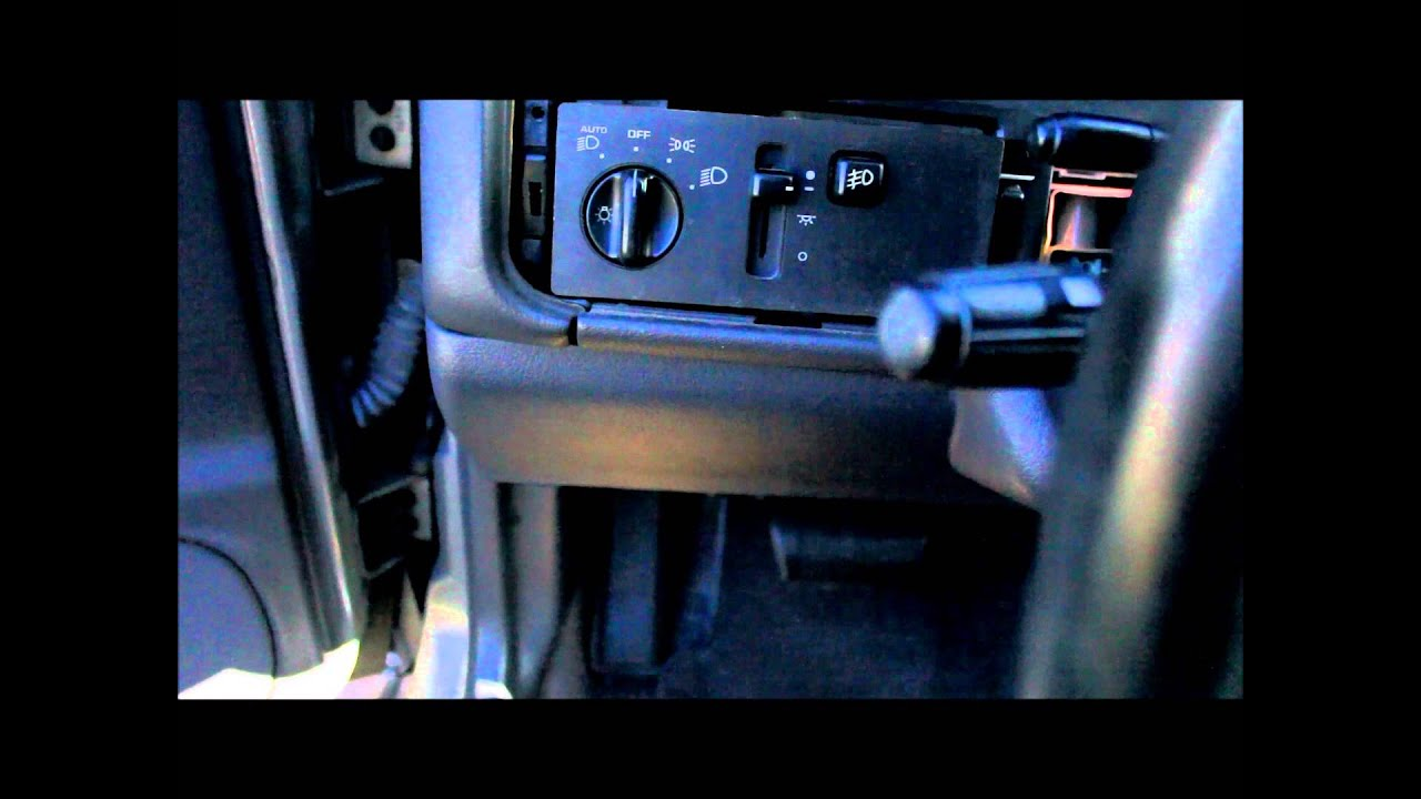 1996 Jeep Dimmer Switch Fix Youtube