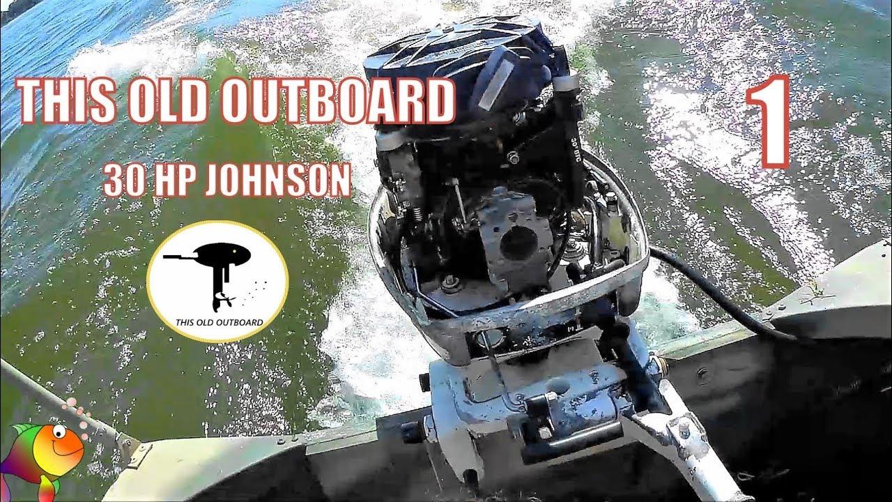 30 HP JOHNSON 1990 - JOHNSON IS GETTING HARD TO START