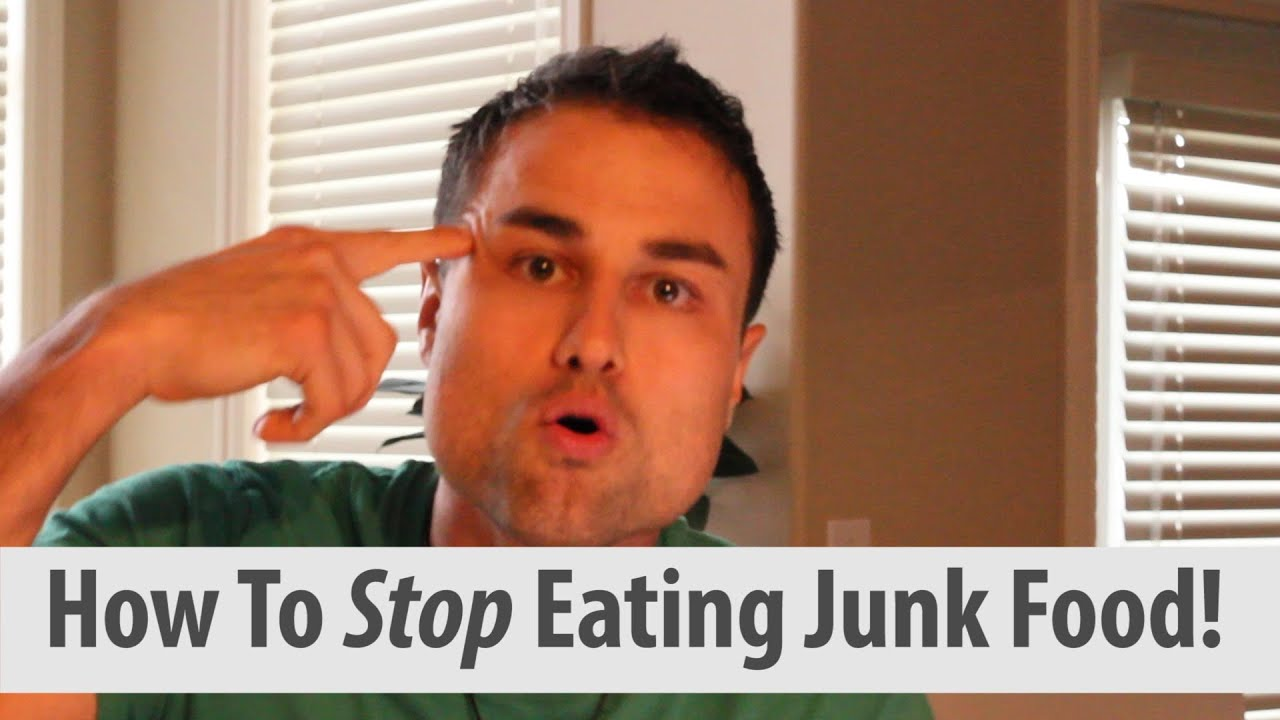 persuasive speech to stop junk food