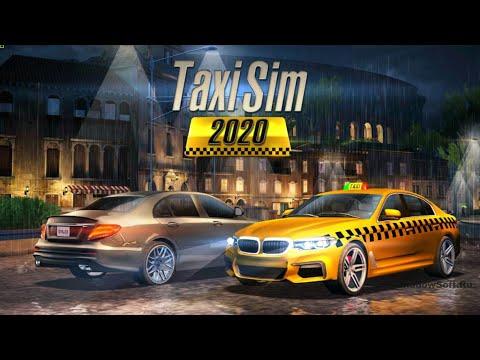 Как скачать бесплатно взлом игры Taxi Sim 2020