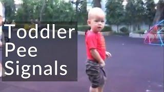 Elimination Communication - Toddler Pee Signals