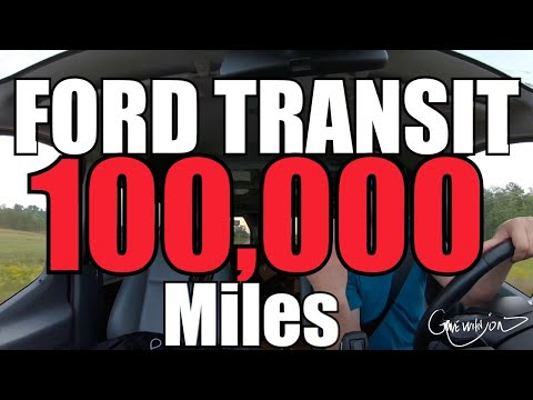 Ford Transit Van After 100,000 Miles (2019)