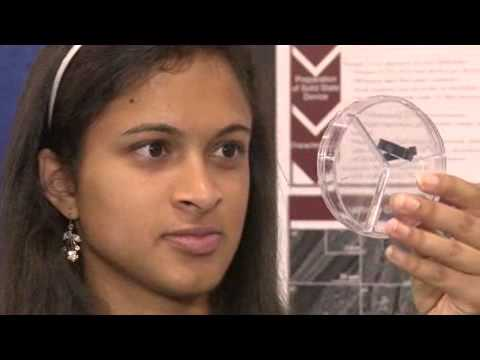 Intel Awards Winner 2013 - Eesha Khare