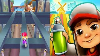 Subway Surfers: Freestyler Gameplay of Some New Area On Amsterdam Subway! HD