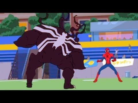 Marvel | Человек паук 2017 | сезон 1 серия 14 – Веном