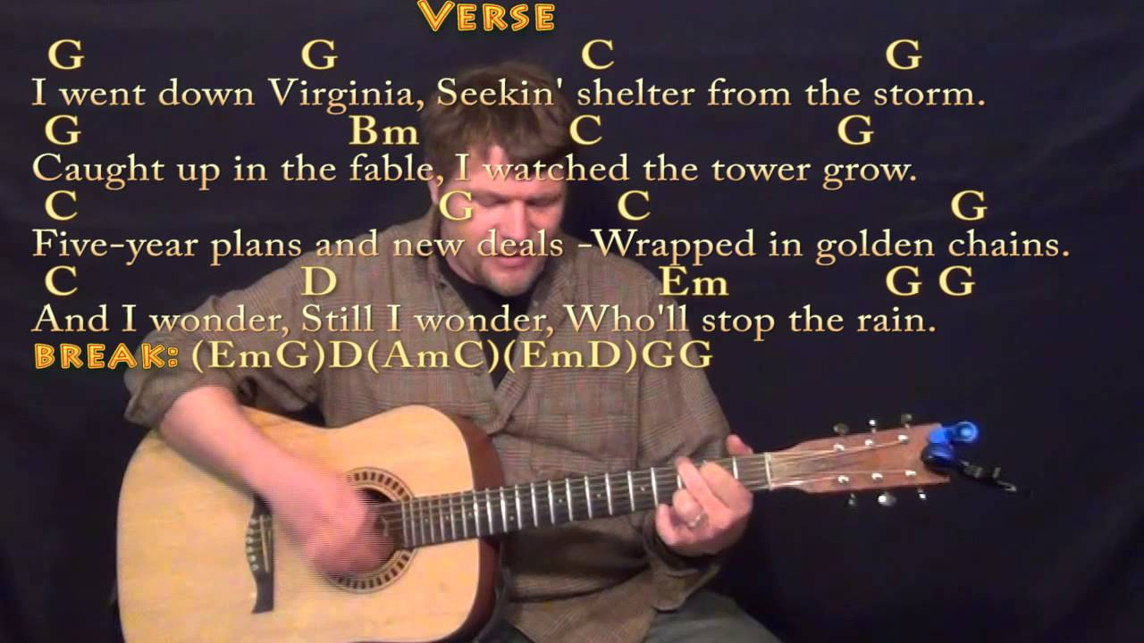 Wholl Stop The Rain Ccr Strum Guitar Cover Lesson With Chords