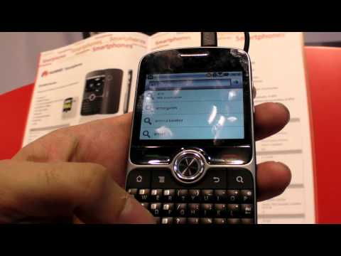"""Huawei Boulder, 2.6"""" qwerty Android phone"""