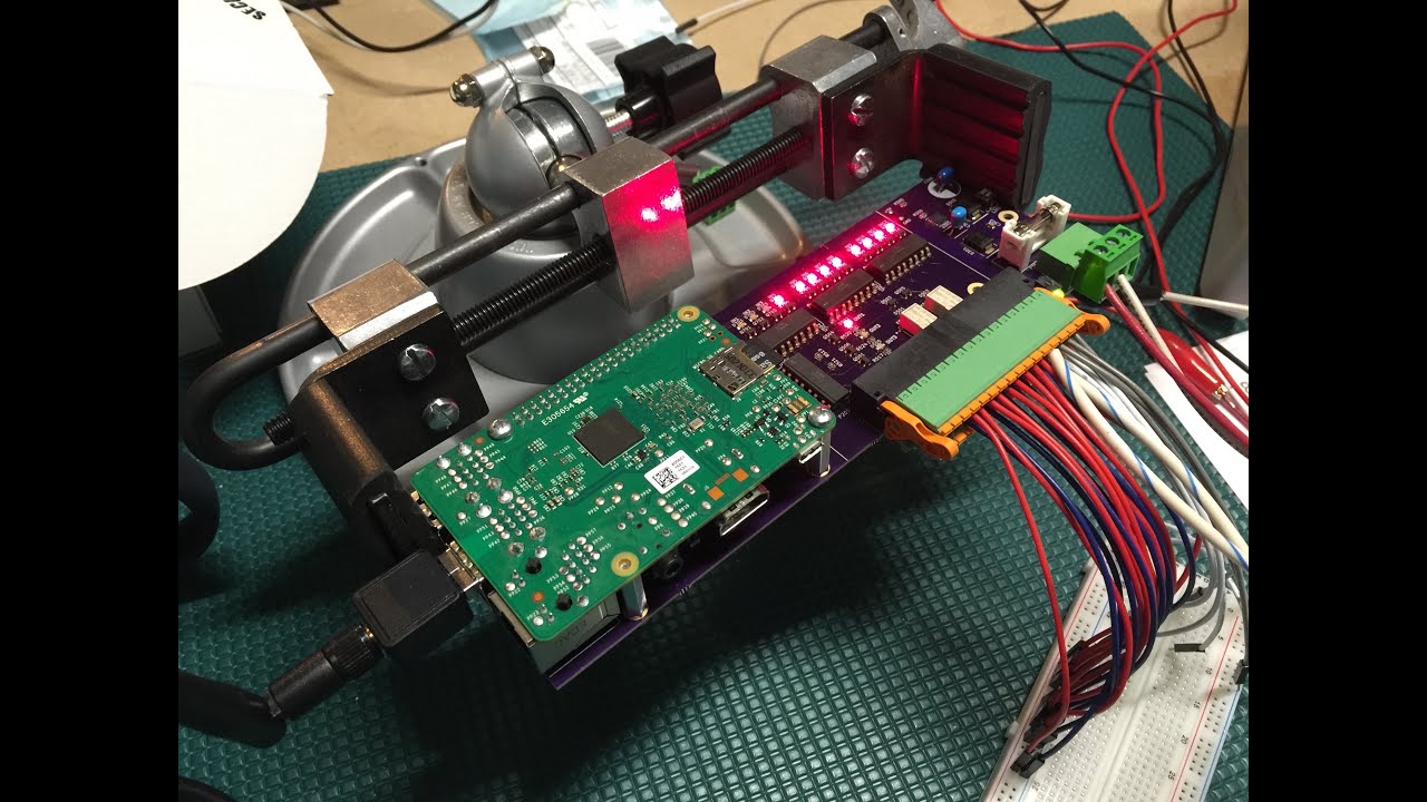 IndustrialThing - Industrialized Raspberry Pi Operating Solenoid