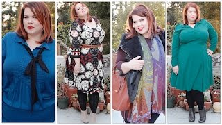 winter plus size fashion melissa mccarthy carmakoma city chic