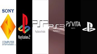 The Evolution of PlayStation Startup Screens (1994-2019)
