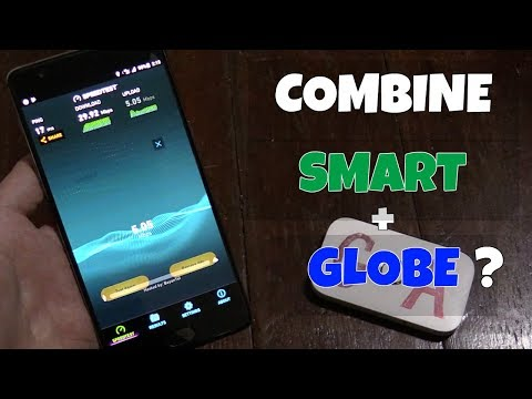 Bond Smart + Globe LTE using Speedify